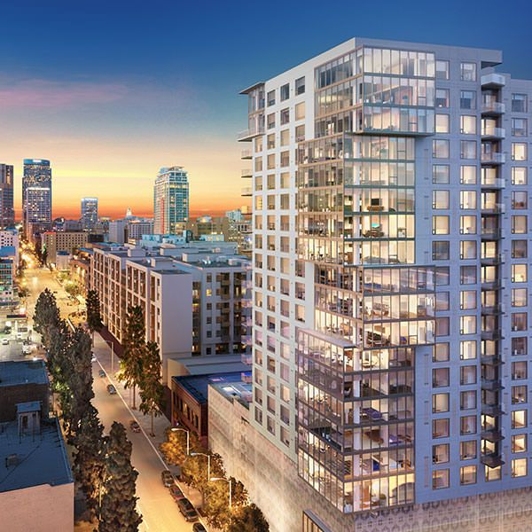 flurry of new condos set to transform los angeles skyline ten50