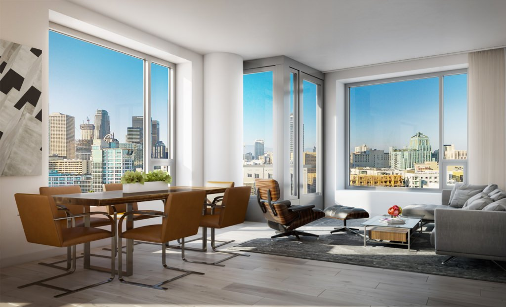 Peek Inside Downtown L.A.u0027s Much Anticipated Luxury Living Tower